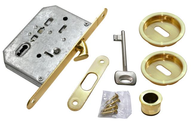 Комплект для раздвижных дверей Morelli MHS-1 L SG