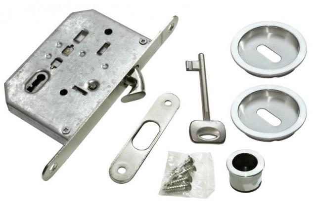 Комплект для раздвижных дверей Morelli MHS-1 L SC