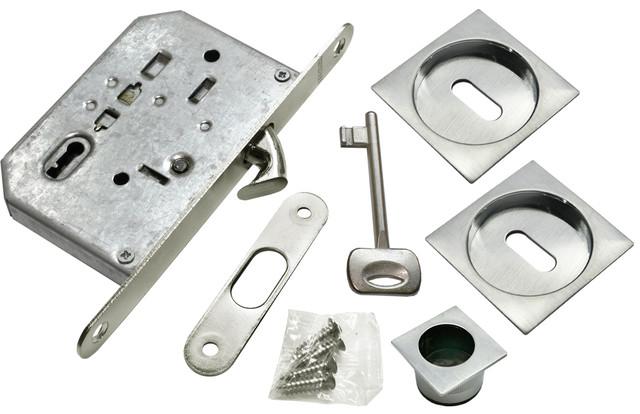 Комплект для раздвижных дверей Morelli MHS-2 L SC