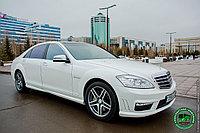 Аренда автомобиля Mercedes Benz w221 с водителем