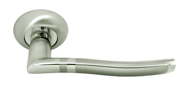 Дверная ручка Rucetti RAP 3 SN/CP