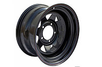Диск стальной ORW Toyota,Nissan 16x7 6x139.7 d110 ET+30 черный №13