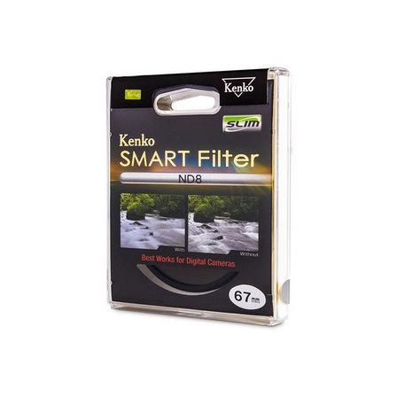 Фильтр для объектива Kenko 67S ND8 SLIM Нейтрально-серый, фото 2