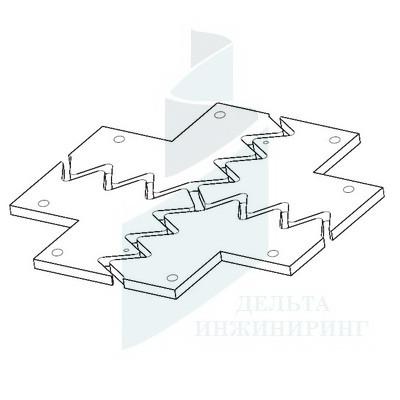 Крест ДВС-11/065 (В=280)