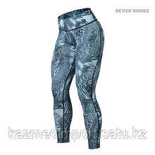 BB Printed tights лосины бирюзовые M