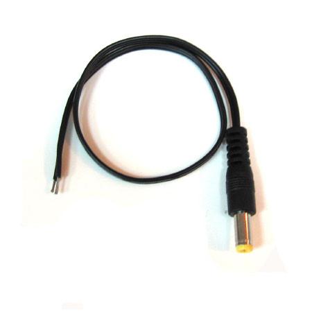 Коннектор питания (штекер) 5.5х2.1мм для видеокамеры