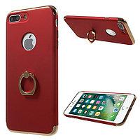 Пластиковый чехол JOYROOM с кольцом для iPhone 7 plus (красный)