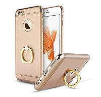Пластиковый чехол JOYROOM с кольцом для iPhone 6/6S (золотистый)