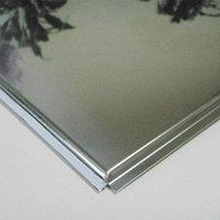 Кассетный потолок алюминиевый цвет хром