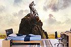 Фотообои Волк на скале, фото 6