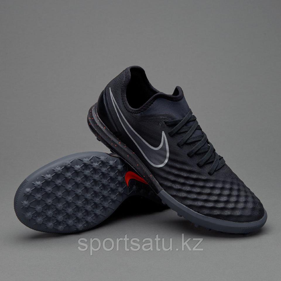 Футбольные бутсы (сороконожки) Nike MagistaX Finale II TF Black