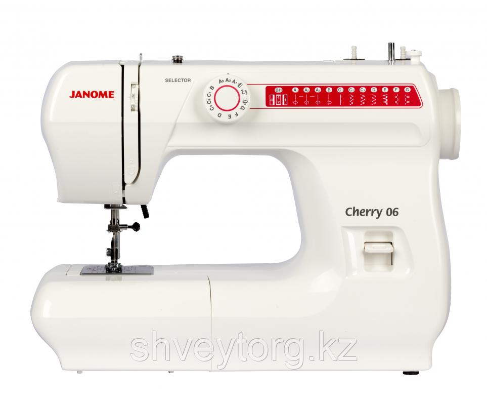 Бытовая швейная машина Janome Cherry 06