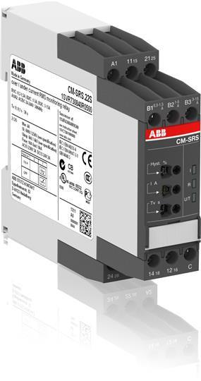 1SVR730840R0500 Однофазное реле контроля тока CM-SRS.22S 24-240В AC/DC