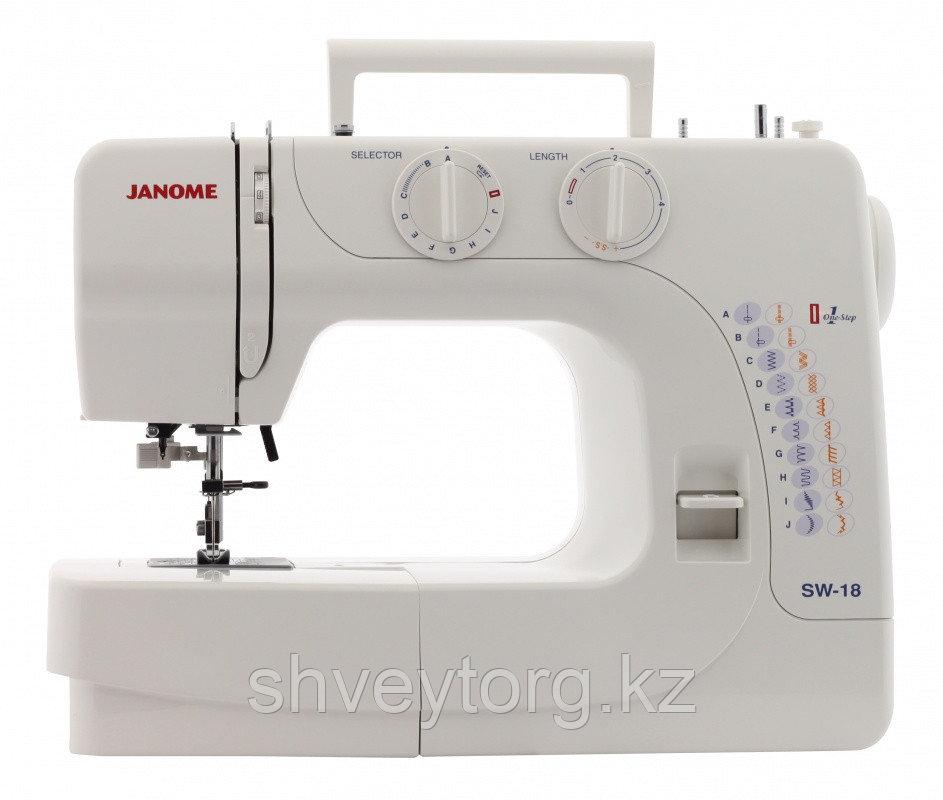 Бытовая швейная машина Janome SW 18