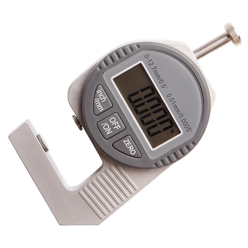 Карманный цифровой Толщиномер мини цифровой штангенциркуль датчик микрометр 0-12.7мм/0.5