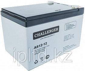 Аккумуляторная батарея Challenger AS12-12 (AGM)