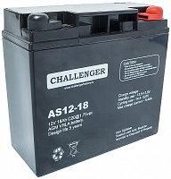Аккумуляторная батарея Challenger  AS12-18 (AGM)