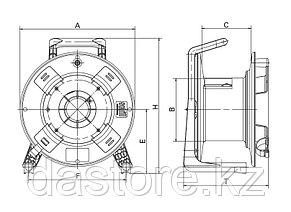 SCHILL GT310.RM катушка кабельная, фото 2