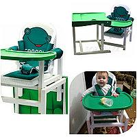 Стул-стол для кормления FROGGY зеленый BABYS, фото 1