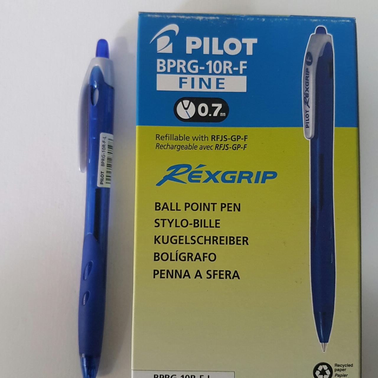 Шариковая кнопочная ручка PILOT BPRG-10R-F