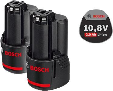 BOSCH Акк. наборы батарей Li Ion 1600Z00040