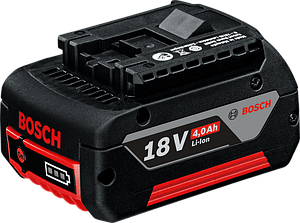 BOSCH Акк. батареи Li Ion 18 В 4,0 Ач