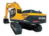 Запчасти для гусеничных экскаваторов Hyundai