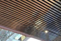 Реечный потолок «Кубообразная рейка»