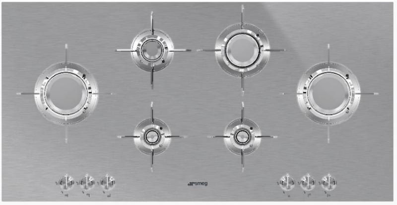 Встраиваемая варочная поверхность Smeg PXL6106