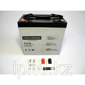 Аккумуляторная батарея challenger a12-55 (AGM)