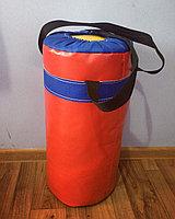 Боксерский мешок (груша) баннер, опилки, 50 см