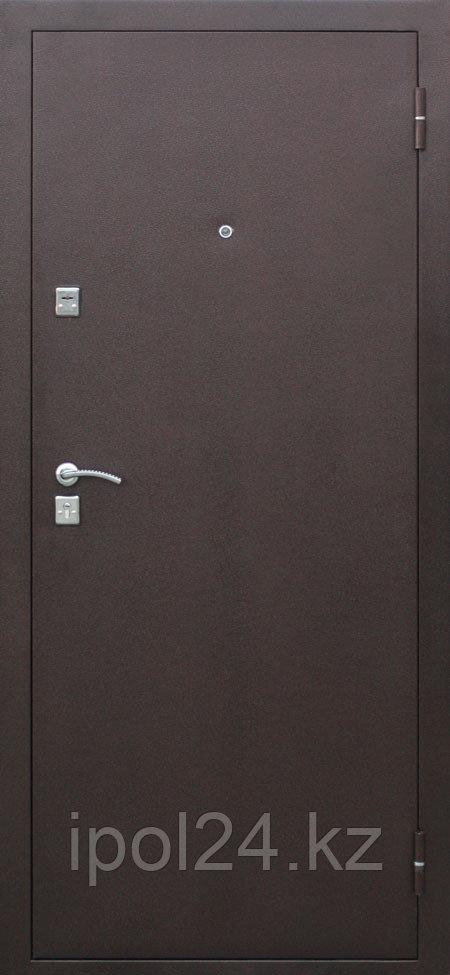 Дверь металлическая Стройгост 7-2 металл/металл 3 петли минвата