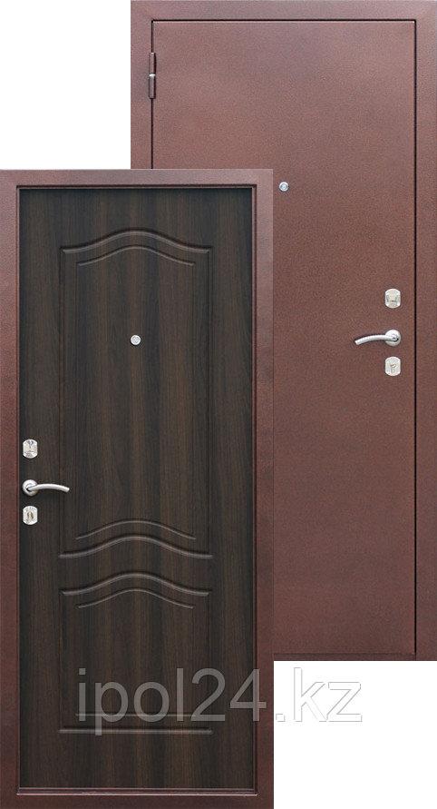 Дверь металлическая Гарда Венге