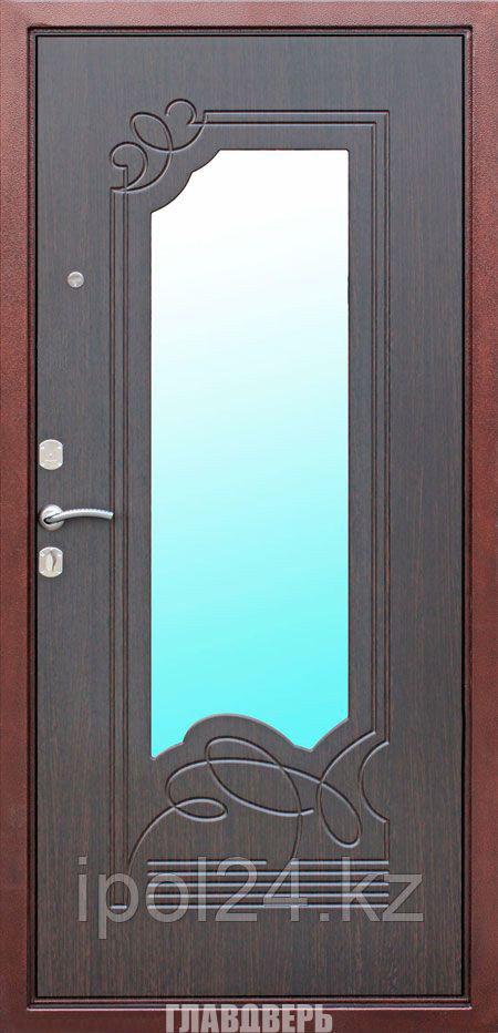 Дверь металлическая Ampir Венге