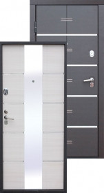 Дверь металлическая Alta Tech Белый ясень
