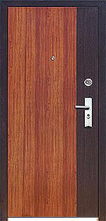 Дверь металлаллическая KS01-2 (960L), (960R) Внутреннее открывание