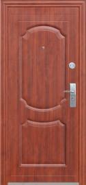 Дверь металлаллическая Kaiser Итальянский орех (960L) ППУ