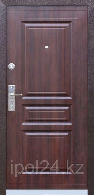 Дверь металлическая Kaiser Венге/Комби (960L) ППУ