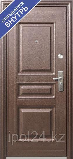 Дверь металлаллическая K703 (860R) тёплая Внутреннее открывание