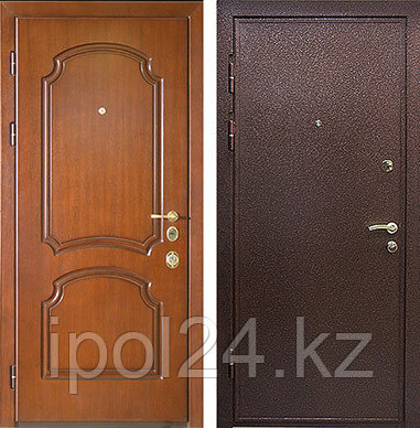 Дверь металлическая Стальная дверь МДФ №1 (960L)