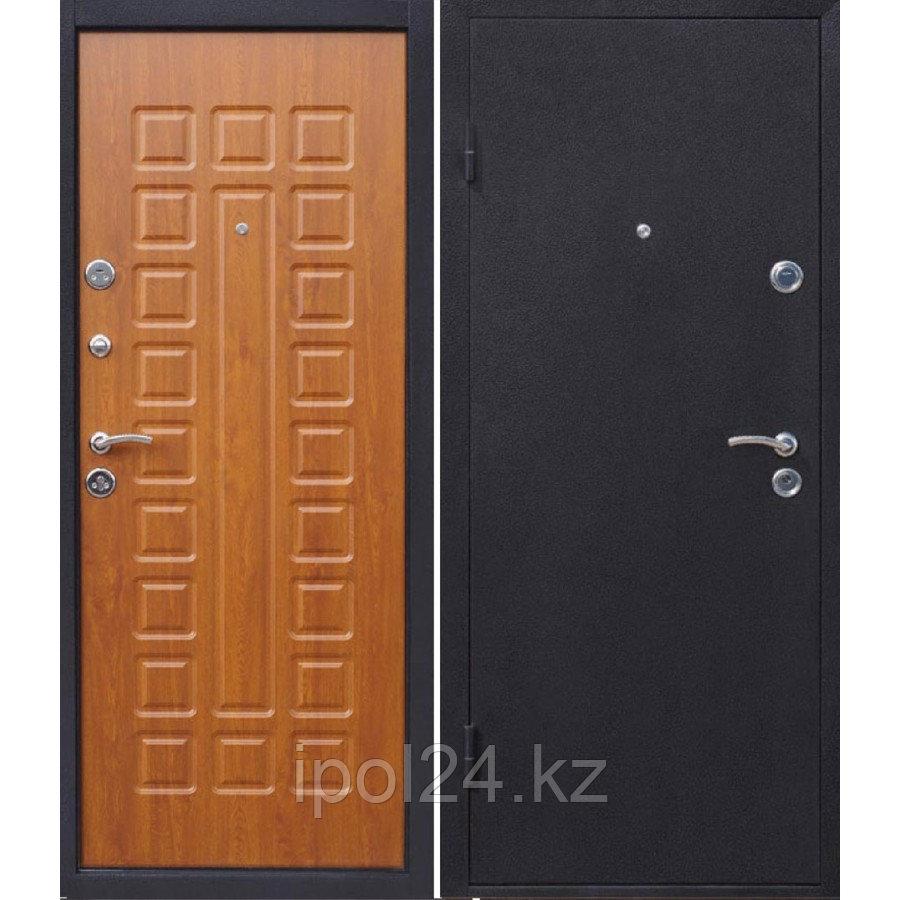Дверь металлическая Йошкар Золотистый дуб ВО