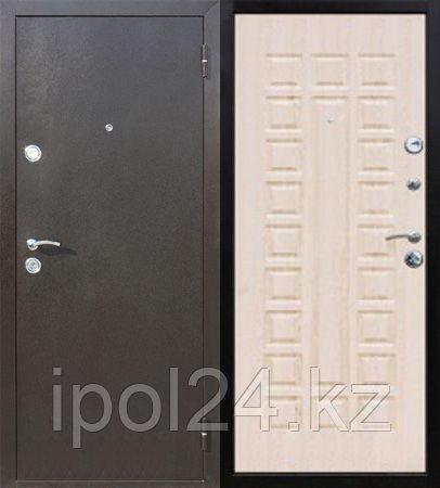 Дверь металлическая Троя Белёный дуб (860L)