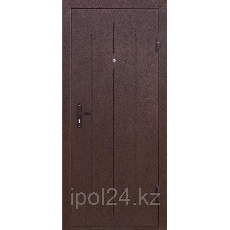 Дверь металлаллическая СтройГост 5 (950 мм) левая