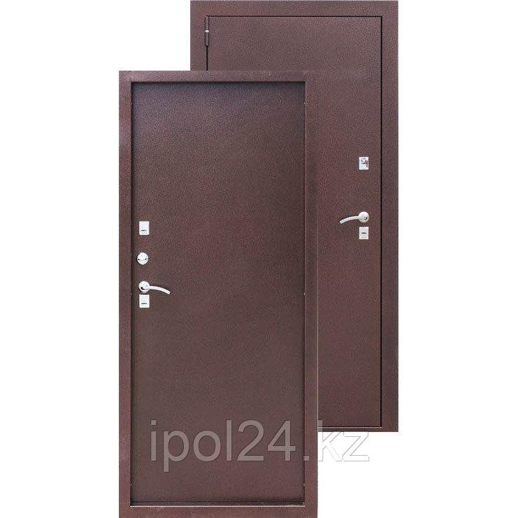 Дверь металлическая ISOTERMA 8,5 см металлалл/металлалл (880мм) правая