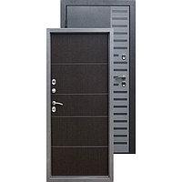 Дверь металлическая ISOTERMA 10 см Венге (880мм) правая