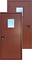 Противопожарная дверь одностворчатая остекленная ДПМО 01 Ei60 с площадью остекления до 25%