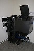 Твердотопливный котел отопления с податчиком от 40 кВт -до 400 метров кв.