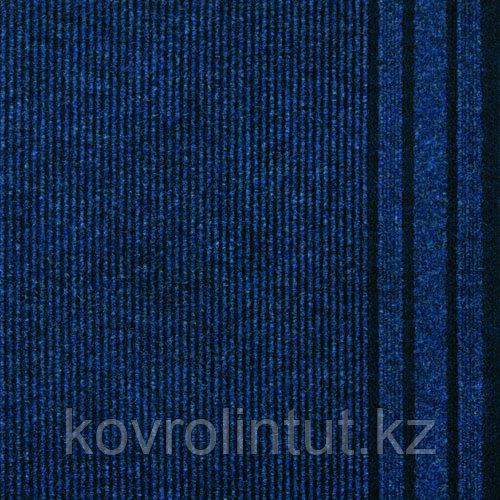 Ковровая дорожка Рекорд 813 синий, 0.8-1.2 м, опт/розн