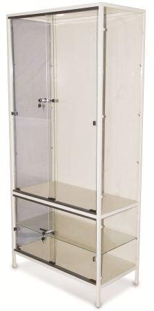 Шкаф медицинский со стеклянными дверцами ШМ 004