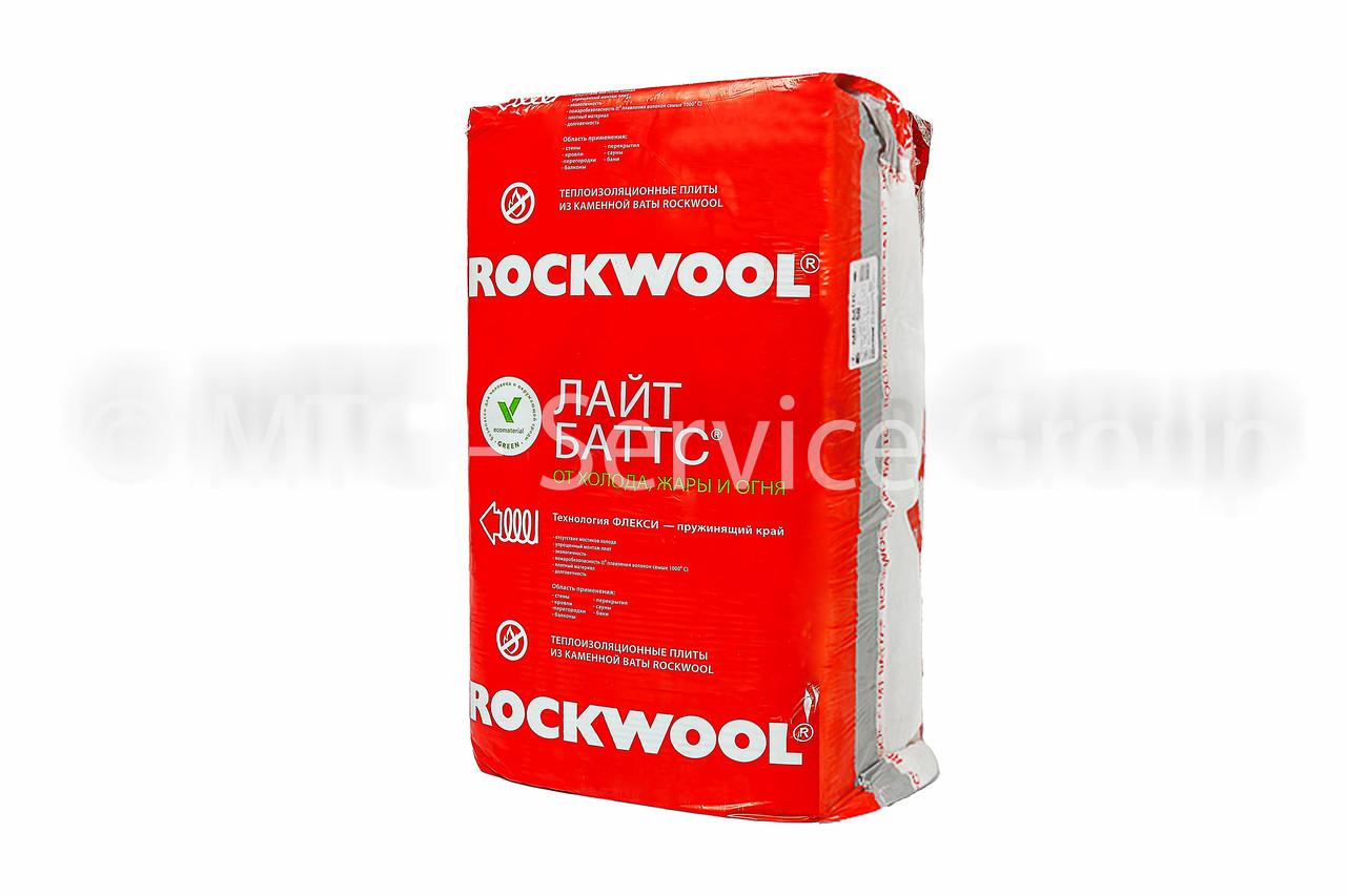 Теплоизоляционные плиты Rockwool Лайт Баттс 50 мм